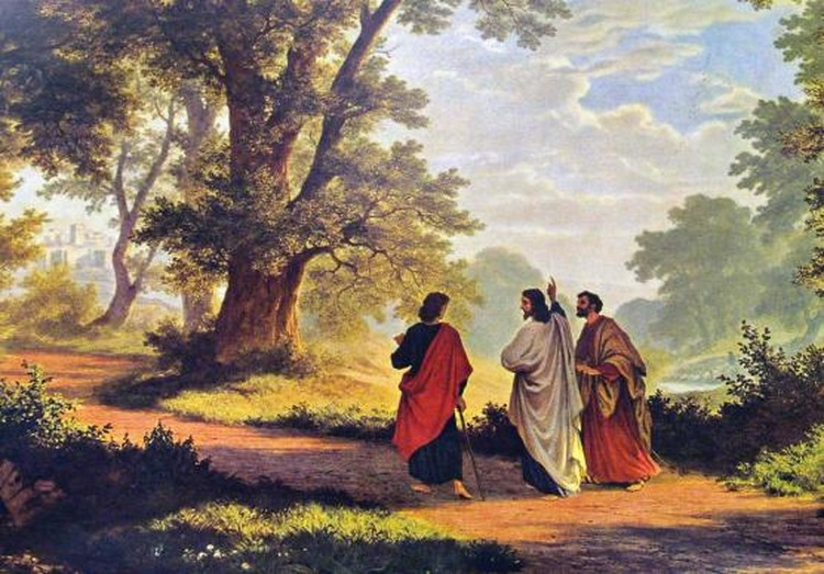 On the road to Emmaus...our hearts burned within us.