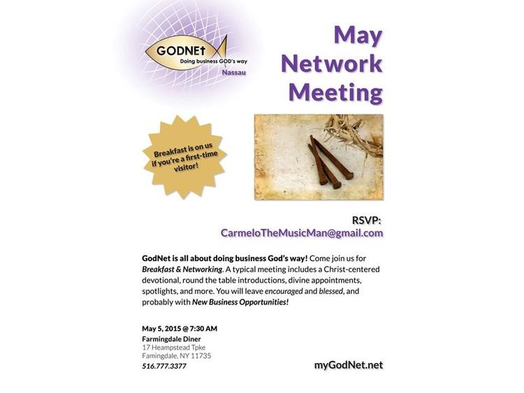 GodNet Nassau County May Meeting